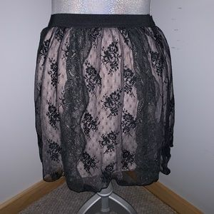 American Eagle Lacey Skirt